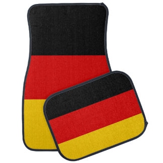 Set of car mats with Flag of Germany
