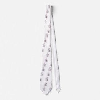 Set of female deodorants on white background tie