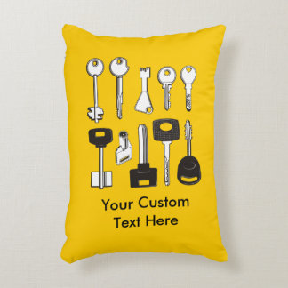 Set of Keys Accent Pillow
