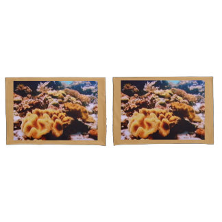 SET OF PILLOW COVERS - CORALS