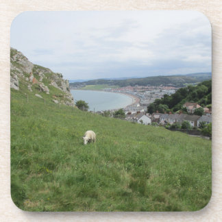 Set Of Six Drinks Coasters With Llandudno Picture