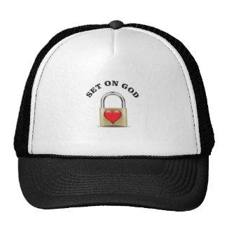 set on god trucker hat