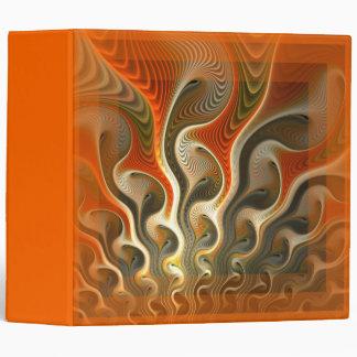 Set Phasers To Stun Orange Binder