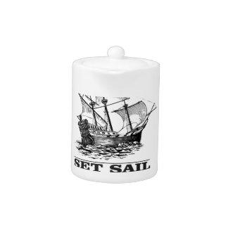set sail on the ship