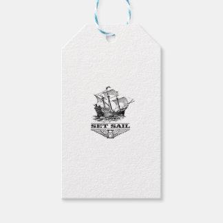 set sail on the ship gift tags