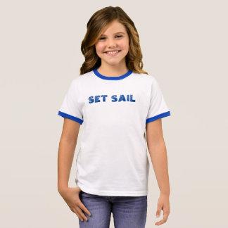 Set Sail Ringer T-Shirt
