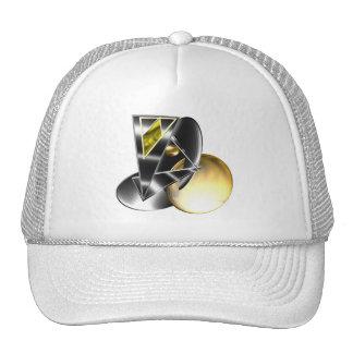 Set shield trucker hat