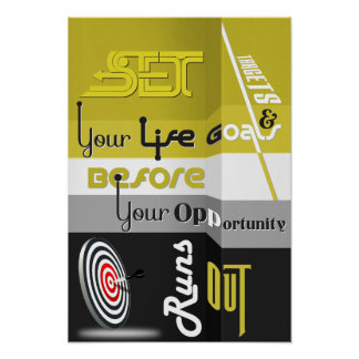 Set Your Goal Poster