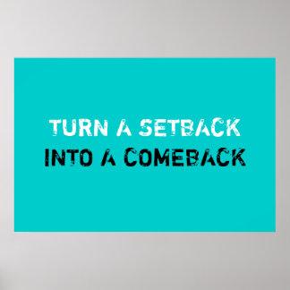 Setback Comeback Poster