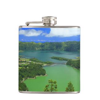 Sete Cidades lakes Flasks