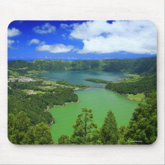 Sete Cidades lakes Mouse Pad