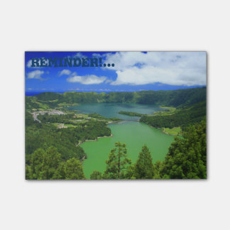 Sete Cidades lakes Post-it® Notes
