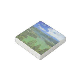 Sete Cidades lakes Stone Magnets