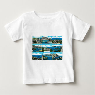 Sete, Mediterranean fishing and ferry  port Baby T-Shirt