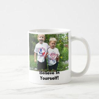 Seth And Caleb Believe In Yourself Mug