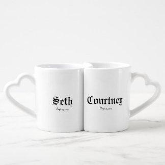 Seth / Courtney Coffee Mug Set