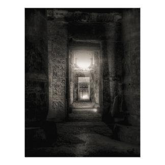 Seti I Temple Abydos Letterhead