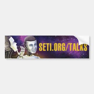 SETI Talks Bumper Sticker