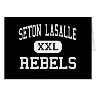 Seton Lasalle - Rebels - High - Pittsburgh Card