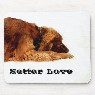 Setter Love Mouse Pad