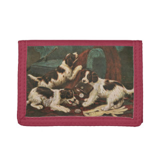 Setter Puppies wallet