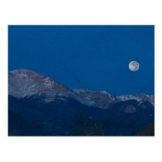 Setting Moon Postcard