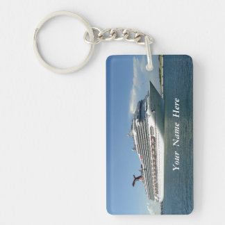 Setting Sail Custom Keychain