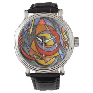 Setting Sail-Hand Painted Abstract Art Watch