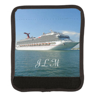 Setting Sail Monogrammed Luggage Handle Wrap