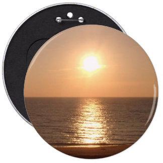 Setting Sun 6 Inch Round Button