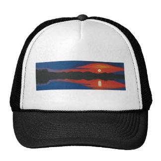 Setting Sun . Trucker Hat