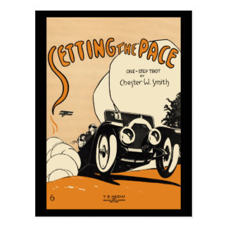 Setting the Pace Postcard