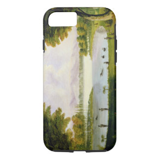 Setting up Camp of the Naval Survey Expedition, at iPhone 7 Case