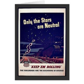 Seulement les étoiles sont neutres carte