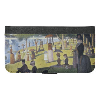 Seurat iPhone 6/6s Plus Wallet Case