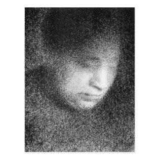 Seurat's mother by Georges Seurat Postcard