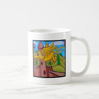 seusslike fling bird classic white coffee mug