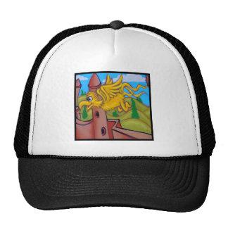 seusslike fling bird trucker hat