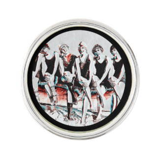 Seven Bathing Beauty Pals Lapel Pin
