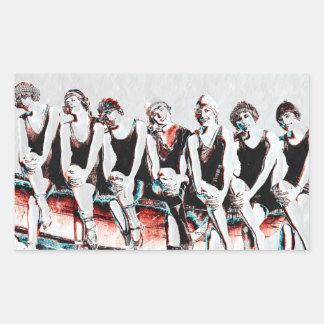 Seven Bathing Beauty Pals Sticker