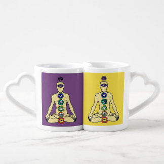 Seven centers couple mugs
