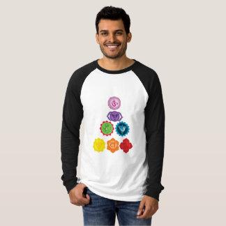 Seven ChakraLong Sleeve Raglan T-Shirt