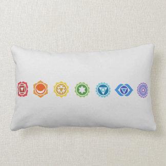 Seven Chakras Lumbar Pillow