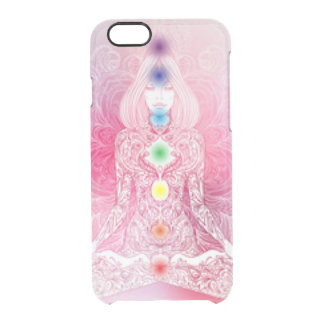 Seven Chakras Pink Lady Clear iPhone 6/6S Case
