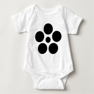 Seven day city star plum bowl A Baby Bodysuit