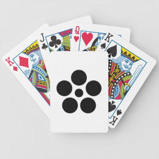 Seven day city star plum bowl A Bicycle Playing Cards