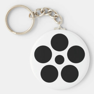 Seven day city star plum bowl A Keychain