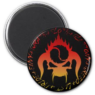 Seven deadly sins magnet