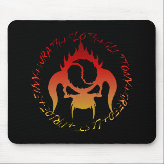 Seven deadly sins  mouse pad
