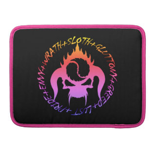 Seven deadly sins Rickshaw Macbook Sleeve